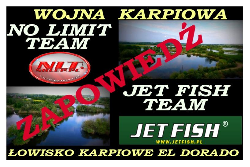 WOJNA KARPIOWA | ZAPOWIEDŹ | NO LIMIT TEAM | JET FISH POLSKA