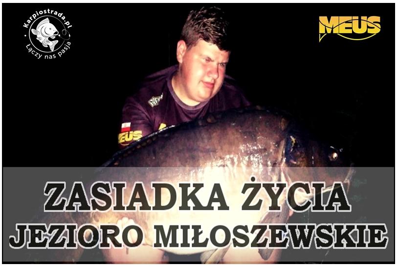 ZASIADKA ŻYCIA | JEZIORO MIŁOSZEWSKIE | RAFKO CARP FISHING