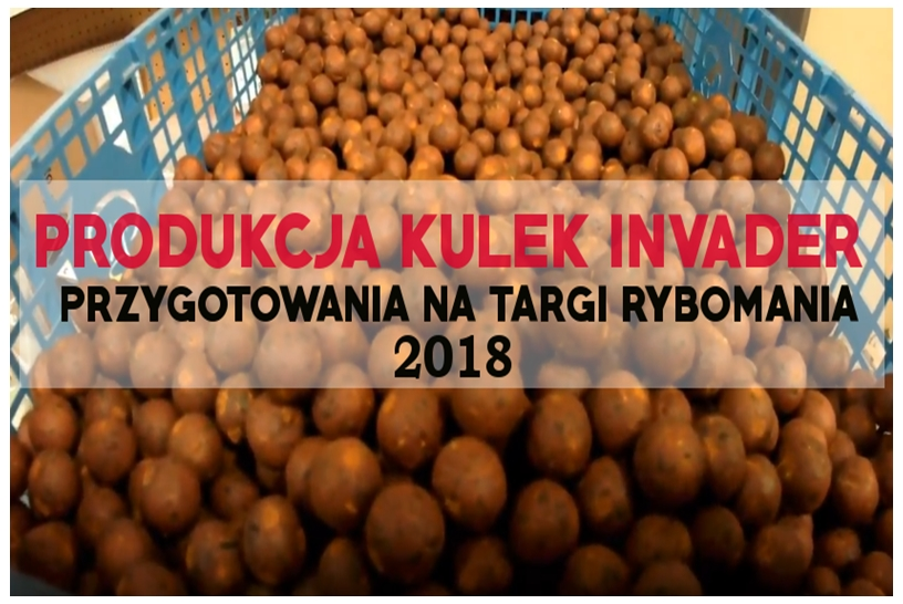 PRODUKCJA KULEK INVADER   PRZYGOTOWANIA   RYBOMANIA 2018