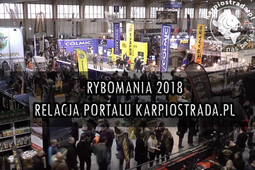 RELACJA Z RYBOMANIA 2018 POZNAŃ | KARPIOSTRADA.PL