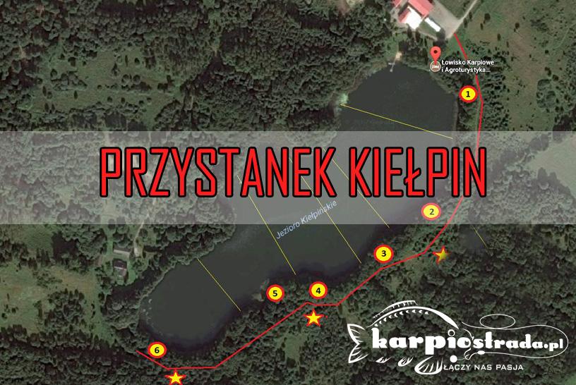 ŁOWISKO PRZYSTANEK KIEŁPIN – PATRONAT PORTALU KARPIOSTRADA.PL