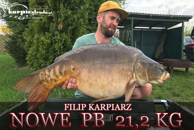 NOWE PB 21,2 KG | FILIP KARPIARZ | TEAM CARP DIGGERS