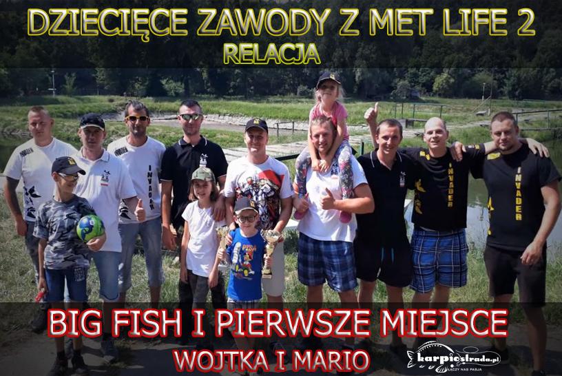 DZIECIĘCE ZAWODY Z MET LIFE 2 | MARIO CARP FISHING