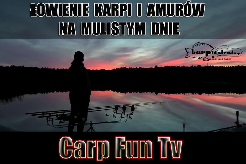 ŁOWIENIE KARPI I AMURÓW NA MULISTYM DNIE | CARP FUN TV