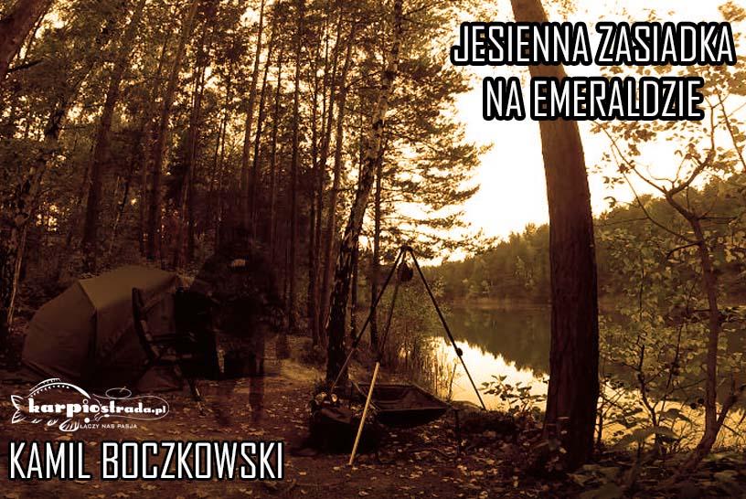 ŁOWISKO EMERALD | JESIENNA ZASIADKA NA EMERALDZIE