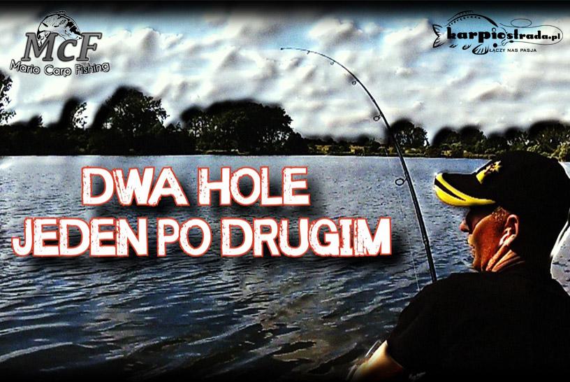 DWA HOLE JEDEN PO DRUGIM | MARIO CARP FISHING | WSPOMNIENIE LATA