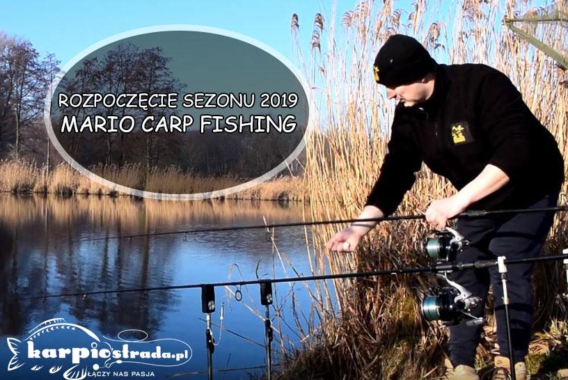 MARIO CARP FISHING ROZPOCZĘCIE SEZONU 2019