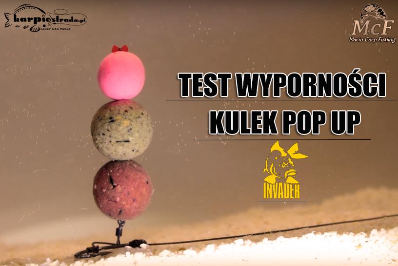 TEST WYPORNOŚCI KULEK POP-UP | MARIO CARP FISHING