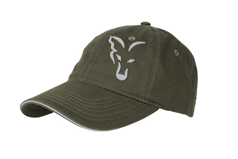 BASEBALL CAP FOX GREEN & SILVER