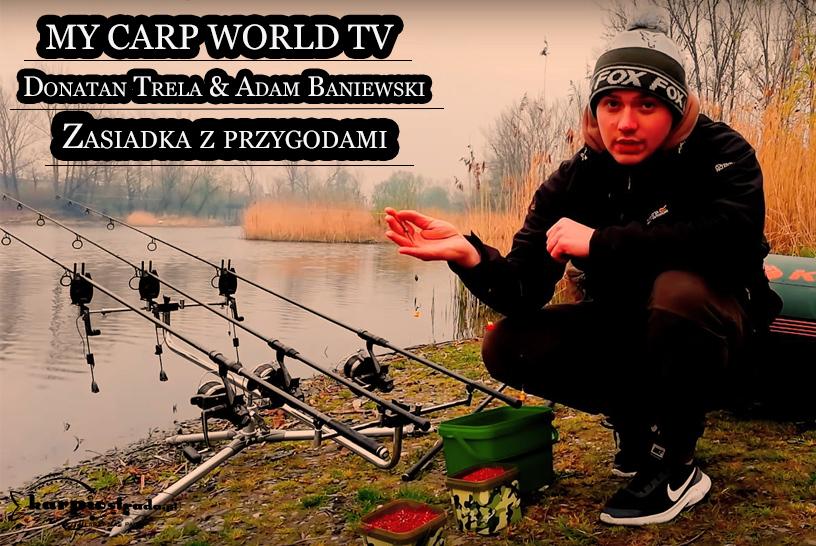 MY CARP WORLD TV ZASIADKA Z PRZYGODAMI