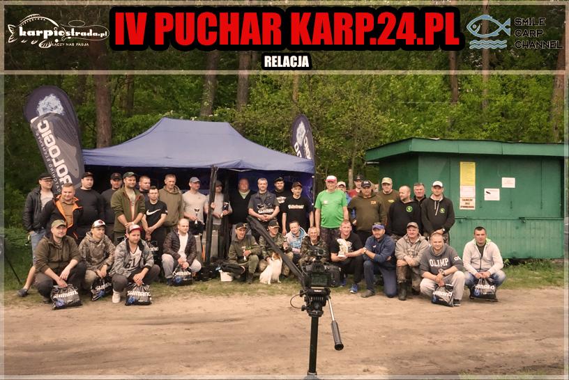 IV PUCHAR KARP24.PL |RELACJA | ŁOWISKO WZORY