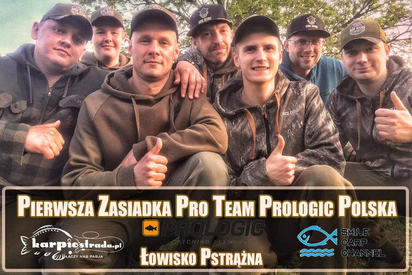 TEAM PROLOGIC POLSKA | SPOTKANIE NA ŁOWISKU PSTRĄŻNA
