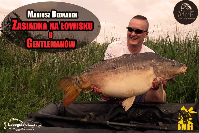 ZASIADKA U GENTLEMANÓW | MARIO CARP FISHING