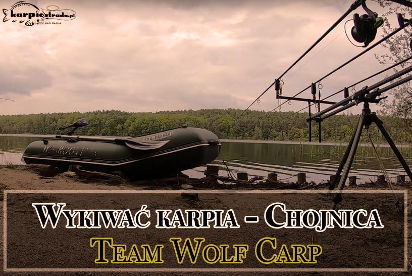 ŁOWISKO CHOJNICA WYKIWAĆ KARPIA TEAM WOLF CARP