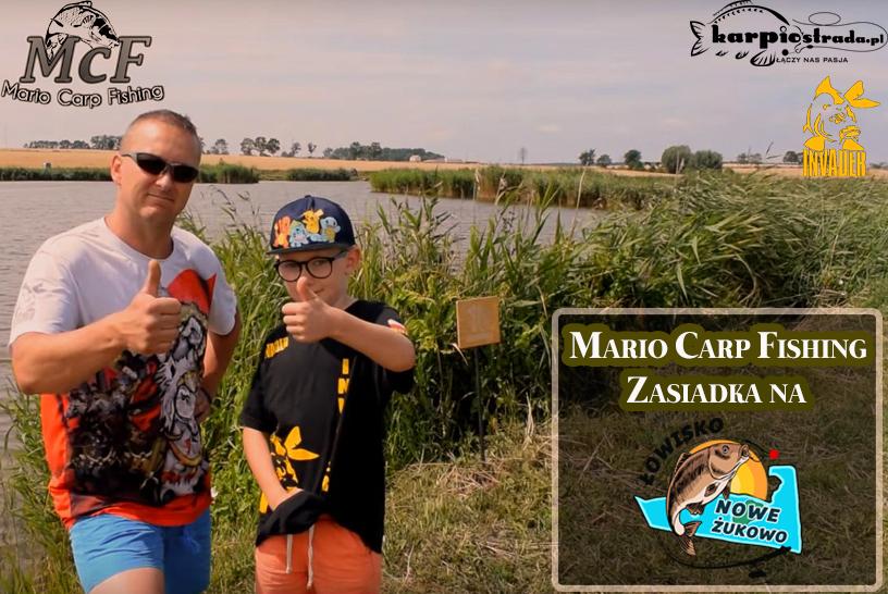 ZASIADKA NA ŁOWISKU NOWE ŻUKOWO | MARIO CARP FISHING