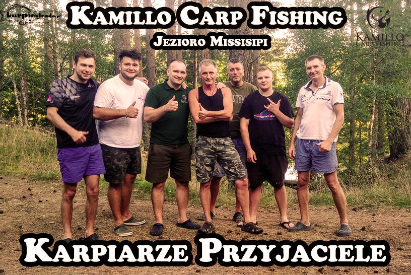 KAMILLO CARP FISHING & KARPIARZE PRZYJACIELE | JEZIORO MISSISIPI