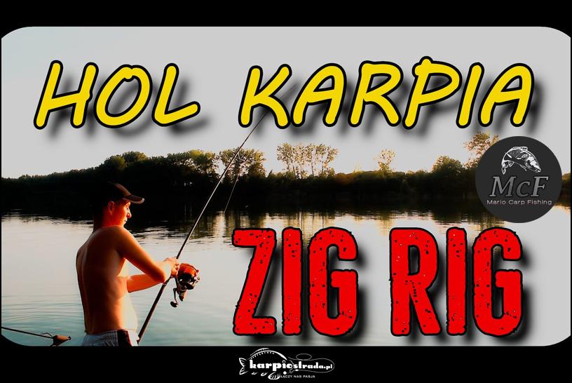 HOL KARPIA NA ZIG RIGA | MARIO CARP FISHING