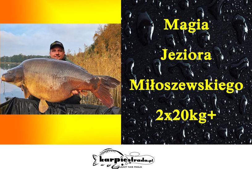 MAGIA JEZIORA MIŁOSZEWSKIEGO 2X20 KG | CARP GRAVITY