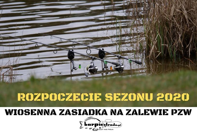 WIOSENNA ZASIADKA   2M1 CARPFISHING