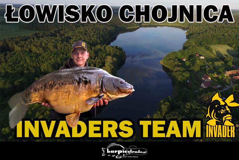 ŁOWISKO CHOJNICA | INVADERS TEAM