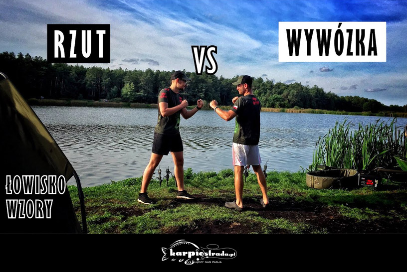 RZUT VS WYWÓZKA | WĘDKARSTWO POLSKA