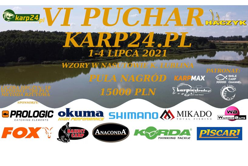 ZAWODY KARPIOWE | VI PUCHAR KARP24.PL