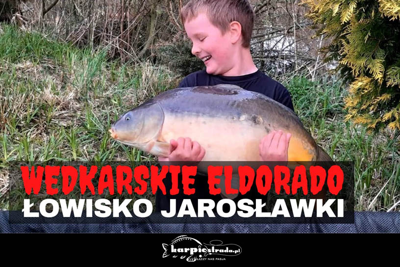 WĘDKARSKIE ELDORADO ŁOWISKO JAROSŁAWKI CZ.II