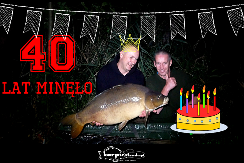 Urodzinowa zasiadka na łowisku Dobro Klasztorne